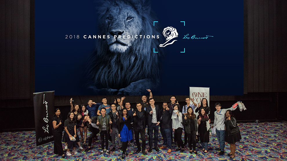 Leo Burnett Malaysia unveils 2018 Cannes Lions Predictions