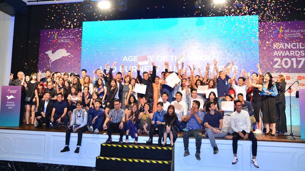 Leo Burnett Malaysia Deals 1-2 Punch With Double Agency Of The Year 2017 Win